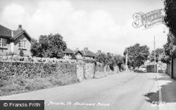 St Andrew's Road c.1955, Dinas Powis