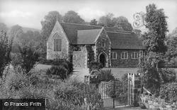 St Peter's Church c.1950, Dinas Powis
