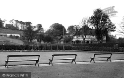 Dinas Powis, The Bowling Green c.1955