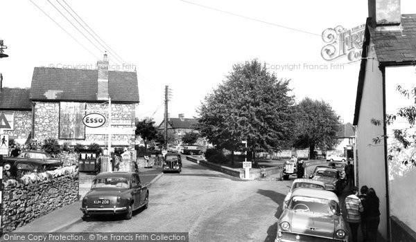 Photo of Dinas Powis, the Square c1960