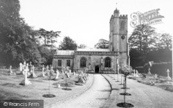 The Parish Church c.1965, Dinder
