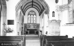 The Parish Church Interior c.1965, Dinder