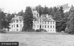 Dingwall, Foulis Castle c.1935
