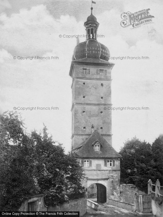 Photo of Dinkelsbuhl, A Tower c.1935