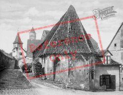 Chapel c.1935, Dinkelsbuhl