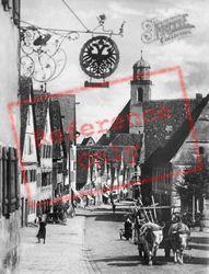 Ox Cart c.1925, Dinkelsbuhl