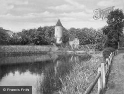 River And City Wall c.1935, Dinkelsbuhl