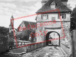 Segringer Gate c.1935, Dinkelsbuhl