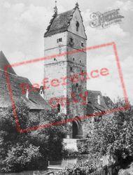 Wörnitz Gate c.1935, Dinkelsbuhl