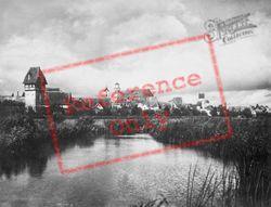 Wörnitz River c.1935, Dinkelsbuhl