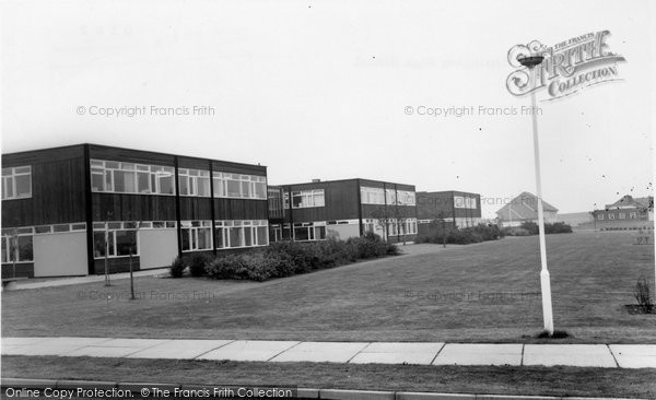 Photo of Dinnington, High School c.1965