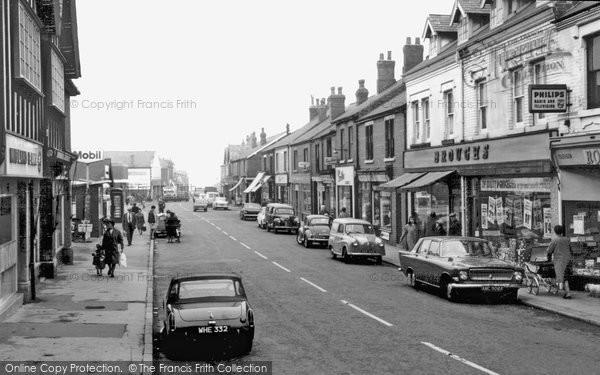 Dinnington, Laughton Road c1965.   (Neg. D101010)  � Copyright The Francis Frith Collection 2008. http://www.francisfrith.com