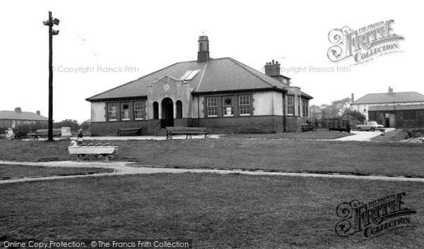 Dinnington, Miners Welfare Centre c1965