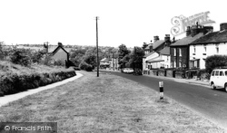 Disley, Buxton Old Road c.1965