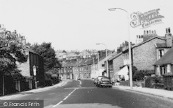 Disley, Buxton Road South c.1965