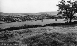 Disley, Dane Bank From The Golf Course c.1965