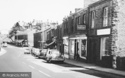 Disley, Market Street Businesses c.1965