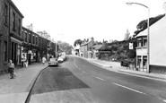 Disley, Market Street c1960