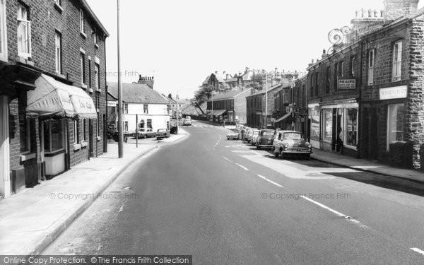 Photo of Disley, Market Street c.1965
