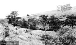 Disley, Moorside Hotel And Lyme Handley c.1965