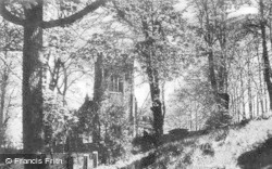 Disley, St Mary's Church c.1950