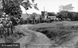 St Mary's Church c.1965, Disley
