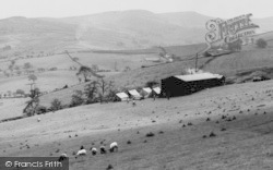 Disley, View From Bowstonegate c.1965