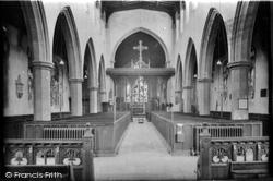 Diss, Church Interior 1925