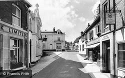 Diss, Market Hill c.1960