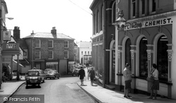 Diss, Market Hill c.1965