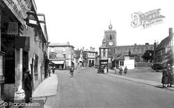 Diss, Market Place 1925