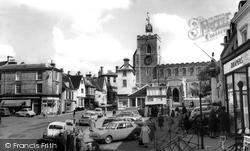 Diss, Market  Place c.1965