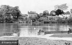 Diss, Mere's Mouth Gardens c.1960