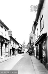 Diss, Mere Street 1925
