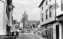 Diss, Mere Street c.1960