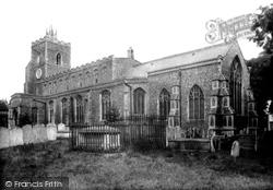 Diss, St Mary's Church 1925
