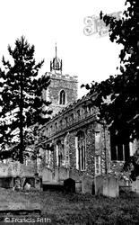 Diss, St Mary's Church c.1955