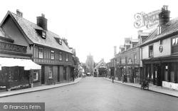 Diss, St Nicholas Street 1925