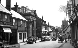 Diss, St Nicholas Street c.1955