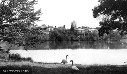 Diss, The Mere c.1955