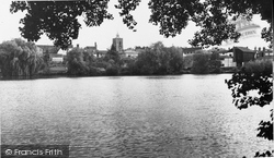 Diss, The Mere c.1960