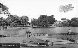Diss, The Mere c.1965