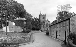 Church Row c.1960, Ditcheat