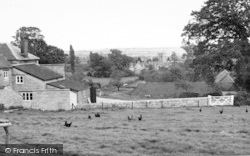Manor Farm c.1960, Ditcheat