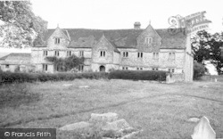 The Manor House, South View c.1960, Ditcheat