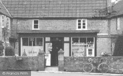 The Village Shop Front c.1955, Ditcheat