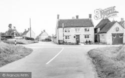 Wraxhall Cross Roads c.1955, Ditcheat