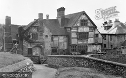 Ditchling, Anne Of Cleves House c.1955