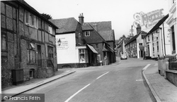 Ditchling, Cross Roads And High Street c.1960