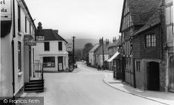 Ditchling, Cross Roads c.1960